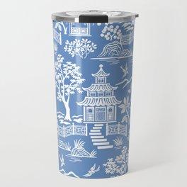 Chinoiserie Pagoda Travel Mug