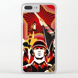 Art print: Propaganda Musik Clear iPhone Case
