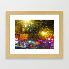 Stories of the City, Stories of the Rain Framed Art Print