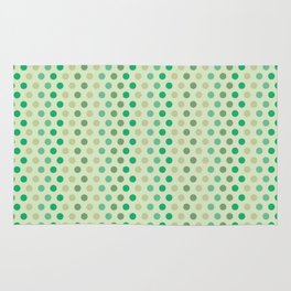 Lizette dots green Rug