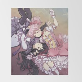 Troubling Fate Throw Blanket