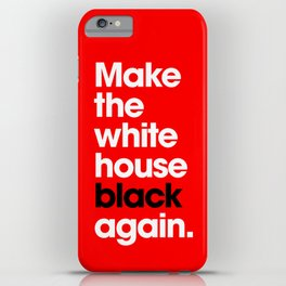 Make America Great Again (Red) iPhone Case