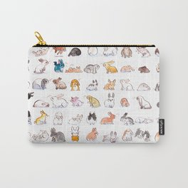 63 Bunnies Carry-All Pouch