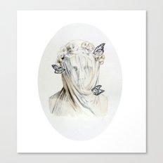 Staue of Spring Canvas Print