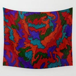 Synapses Firing Wall Tapestry