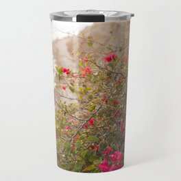 Seaside Bougainvillea Travel Mug