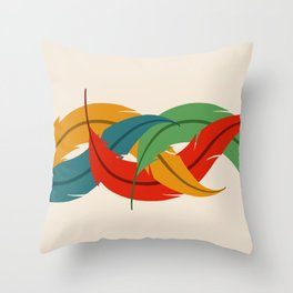 plume Throw Pillow
