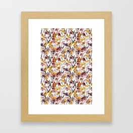 Watercolor Floral 2 Framed Art Print
