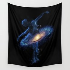 Cosmic dance Wall Tapestry