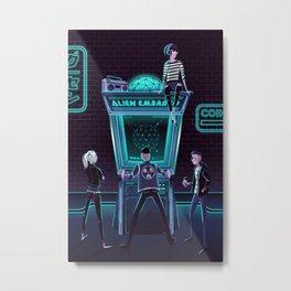 Alien Embargo Metal Print