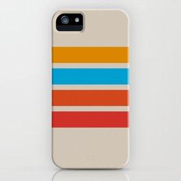 Retro Stripes iPhone Case