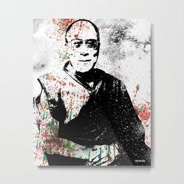 Dalai Lama-Watercolor Metal Print