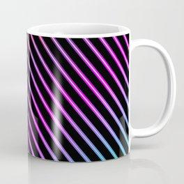 Rainbow Holo Stripes Coffee Mug
