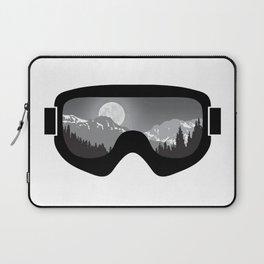 Moonrise Goggles - B+W - Black Frame | Goggle Designs | DopeyArt Laptop Sleeve