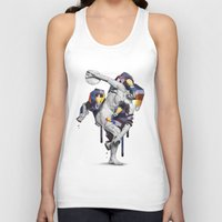 planet of the apes Tank Tops featuring Apes Statue by Birgit Palma