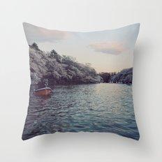 Inokashira Lake Throw Pillow