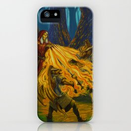 Burning Hands iPhone Case