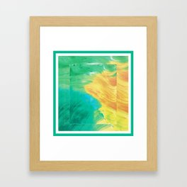 Currents and Flows Framed Art Print
