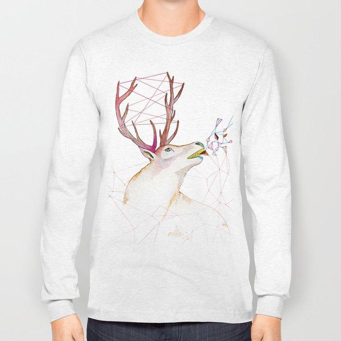 October Deer Long Sleeve T-shirt