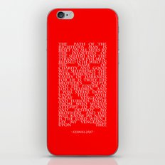 Ezekiel 25|17 iPhone & iPod Skin