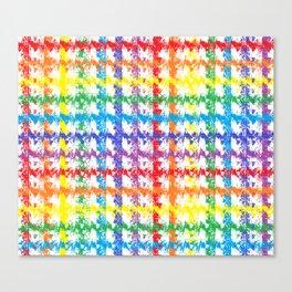 Rainbow Scratch   Canvas Print