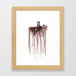 Twin Towers, New York - Indira Framed Art Print