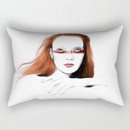 Love Girls - Blood redhead Rectangular Pillow