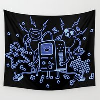bmo Wall Tapestries featuring BMO by Daniel Delgado
