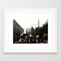 drum Framed Art Prints featuring Drum by Daniel Paschall