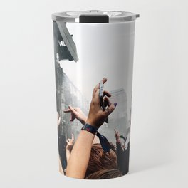 MIDDLE FINGERS IN THE AIR Travel Mug