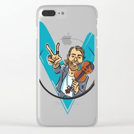 V for Violin Clear iPhone Case