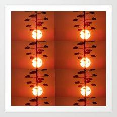 Six Suns of Heaven Art Print