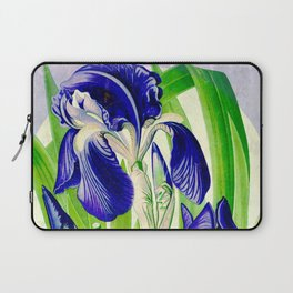 Purple Iris Laptop Sleeve