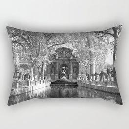 La Fontaine de Medicis Rectangular Pillow