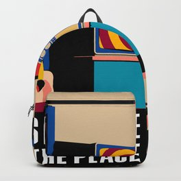 Talking Heads - This Must Be The Place Backpack