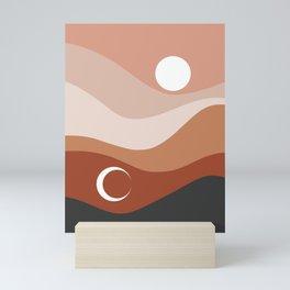 Moon and Sun Season Mini Art Print