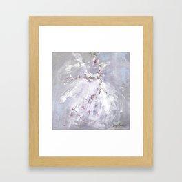 Tutu Mist Framed Art Print