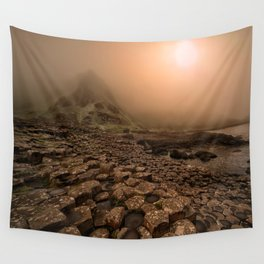 When the sun is going down Wall Tapestry