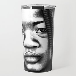 Little boy from Angola Travel Mug