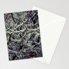 Green Lichen Stationery Cards