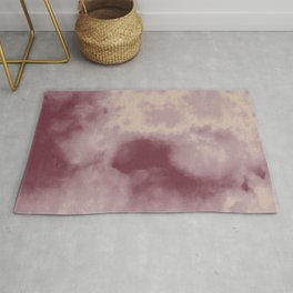 You Don't Choose Who You Fall In Love With - Wolf of Wall Street Watercolor Texture Pattern Rug