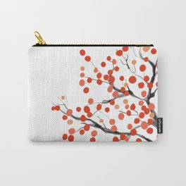 Shiba Family Under The Persimmon Tree Carry-All Pouch