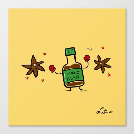 Soy Sauce & Anise Canvas Print