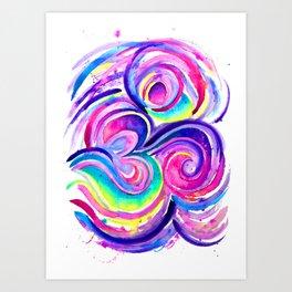 Chill Om Art Print