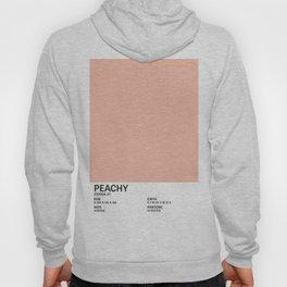Peachy - Colour Card Hoody