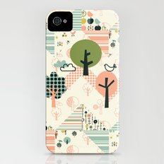 Apple Orchard Zig Zag iPhone (4, 4s) Slim Case