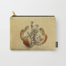 Steampunk Orange (sepia) Carry-All Pouch