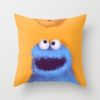 cookies Throw Pillows featuring Cookies  by Lime