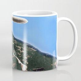 Hollywood Sign and Blimp Coffee Mug