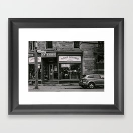 Point Couture Framed Art Print